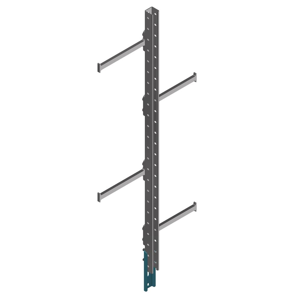 Жесткая анкерная линия (сегмент со ступенями)