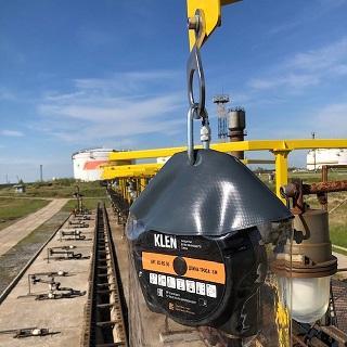 Оснащение рабочих зон железнодорожной эстакады слива/налива нефтепродуктов